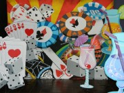 Casino Crazy Chips Cards Dice Money