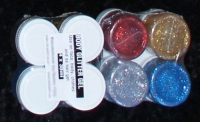 UV glitter Gel 4-Pack