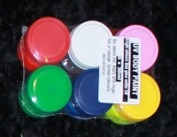 UV Body Paint 6-Pack