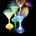 Funlights LED martini Glass